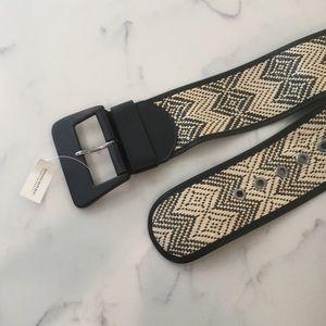 NWT Banana Republic Weaved Straw Belt
