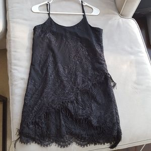 Sam Edleman fringe cocktail dress in size xs