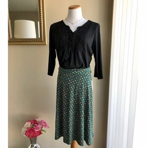 NWT LulaRoe Azure Fold Over Skirt