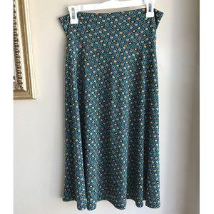 •nwt•  LulaRoe Azure Fold Over Skirt