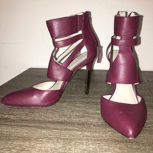 Burgundy POUR LA VICTOIRE heels
