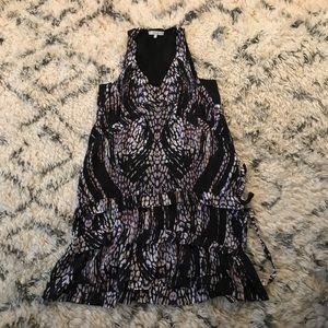 IRO Silk Tank Ruffle Dress