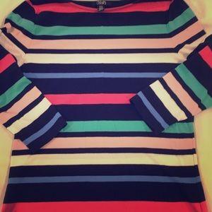Chaps 3/4 Length Shirt