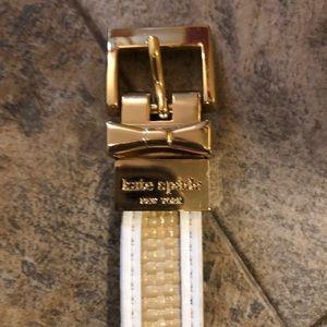 Kate Spade Reversible Belt Euc Size Small