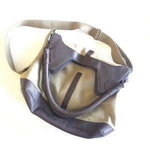Simply Vera Utility Style Canvas Crossbody Bag
