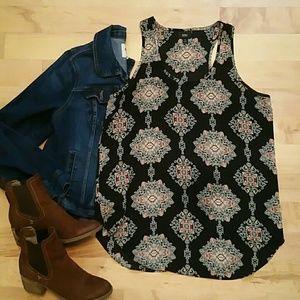 NEW LISTING   Boho style tunic blouse
