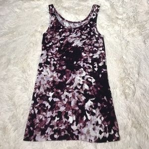•Mossimo• Watercolor Stretch Tank Top