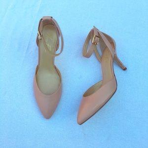 Shoes - Marc Fisher Hien Blush Pink D'Orsay Pumps size 8.5