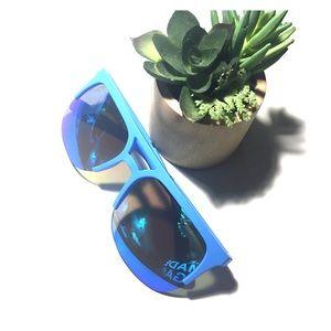DOLCE&GABBANA Azure Mirror Blue Sunglasses