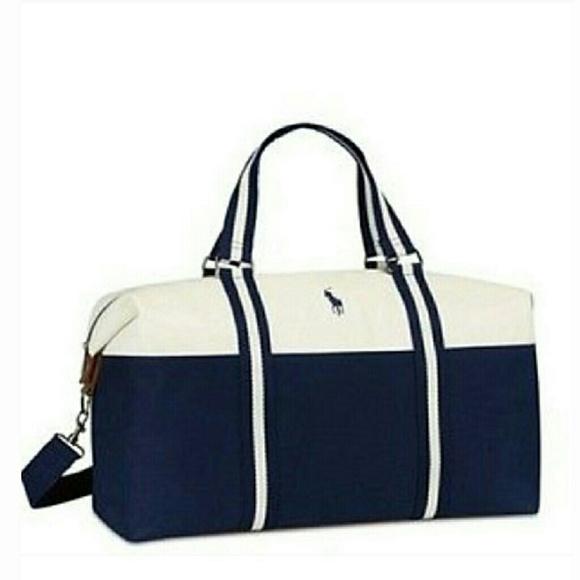 Polo by Ralph Lauren Bags   Ralph Lauren Weekender Travel Bag   Poshmark 094ca55642