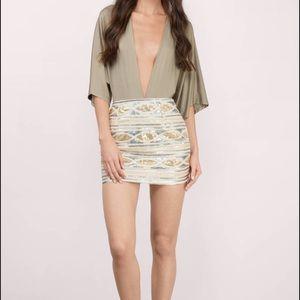 Brand New Sequin Mini Skirt