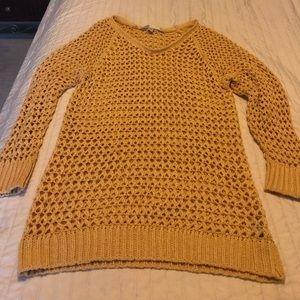 Chucky mustard yellow sweater