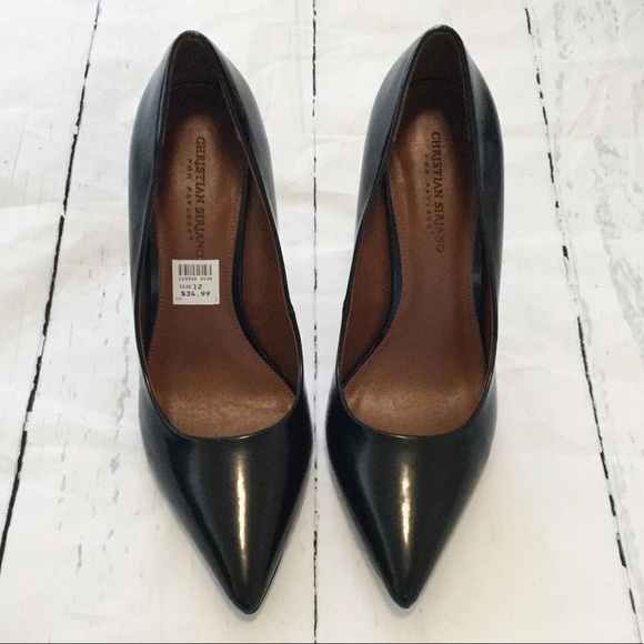 Christian Siriano Habit Black Heels