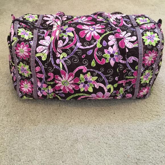 Vera Bradley Purple Punch authentic large duffel. M 59e3e4979c6fcf371008b9d5 326d2373f7