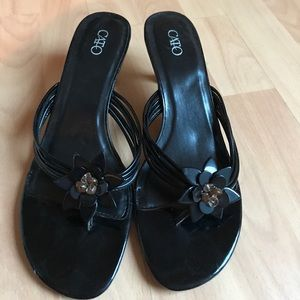 Cato sandals with heel