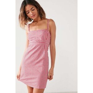 Dresses & Skirts - 🆕 Red White Gingham Mini Dress