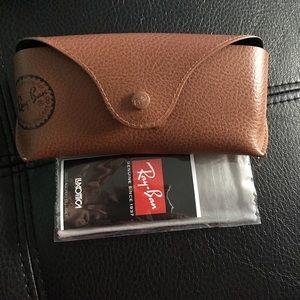 Rey-Ban glasses cases