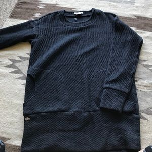 NWOT Lacoste Textured pullover tunic. Sz 38/Large