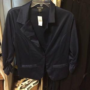 Wet seal navy blue blazer