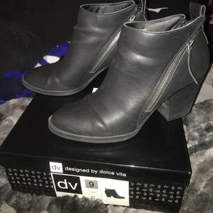 Designed By Dolce Vita Black Booties