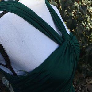 ASOS sexy green dress 6