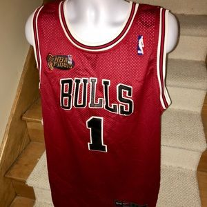 Nike *Chicago Bulls* Rose NBA Finals sewn jersey