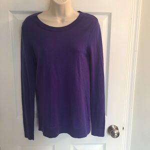 Cobalt blue Cynthia Rowley sweater, size S