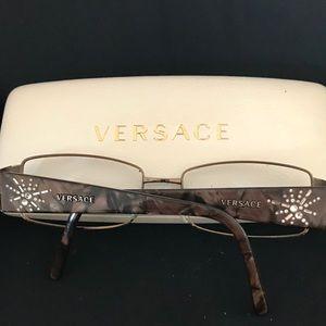 VERSACE Eyeglass Frames & Case