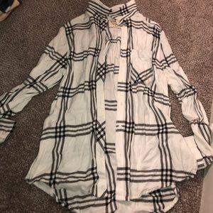 Arizona Black and White Flannel