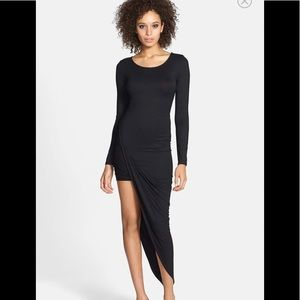ASTR black long sleeve dress size XS