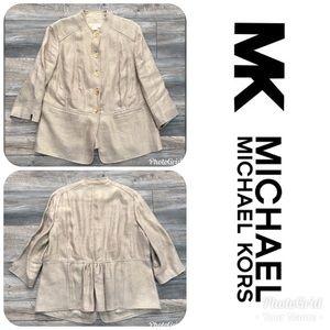 LIKE NEW MICHAEL MICHAEL KORS Blazer Size 14W