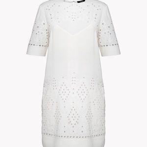 Theory ivory size 12 dress