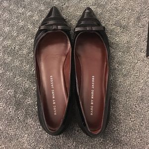 Marc by Marc Jacobs patent flats
