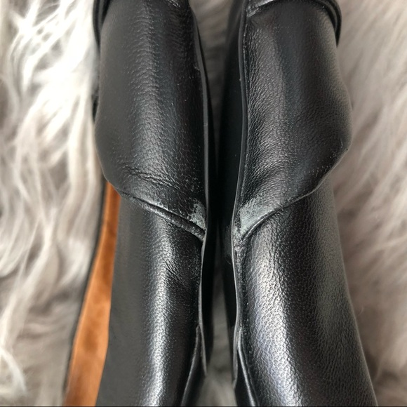 Jeffrey Campbell Shoes - Jeffrey Campbell Black Leather Lisa Flats