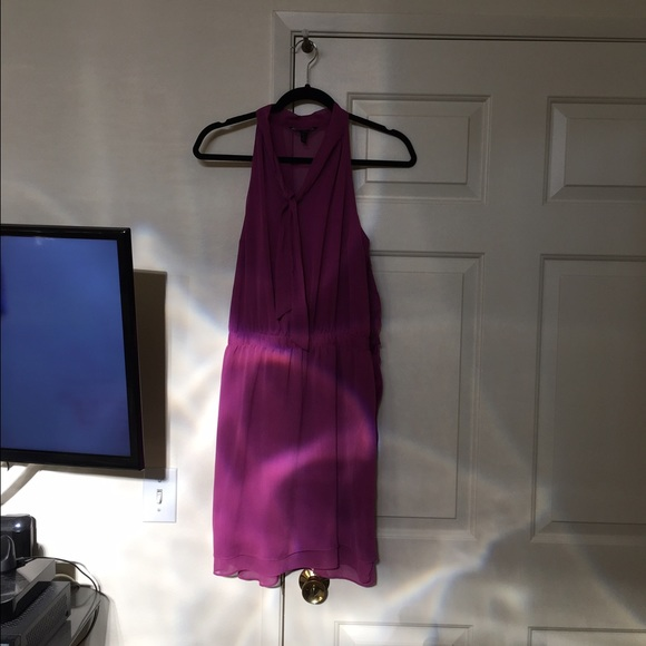 Banana Republic Dresses Purple Dress Chiffon Like Fabric Poshmark