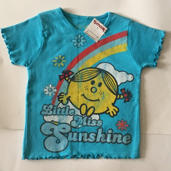738cb61c2 Tj Max Shirts & Tops | Girl Little Miss Sunshine Shirt Size 4t Nwt ...