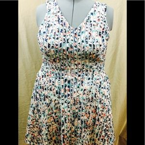 Apt.9 plus size floral pocket dress