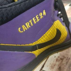 hot sale online 27c31 81f61 Air Jordan Shoes - Air Jordan s Nike ID Alpha 1 Purple   Gold