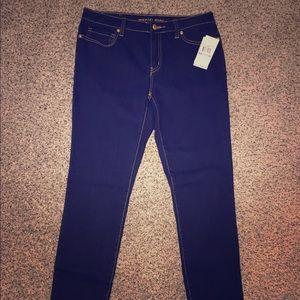 NEW!! MK Overdyed Indigo Jeans, 6, Skinny/straight