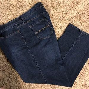Bandolino size 18 short jeans
