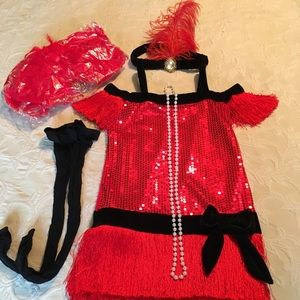 Other - Flapper or Fortune Teller Costume, Girls M 7-8