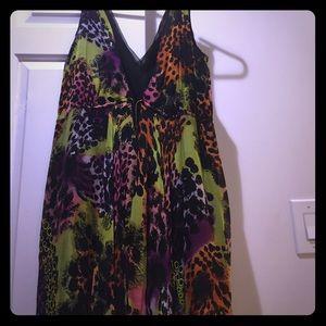 Diane Von Furstenberg African Sugar Print Dress