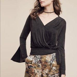 Anthropologie Deletta Sirpo Wrapped Pullover L