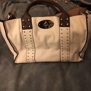 White charming Charlie bag