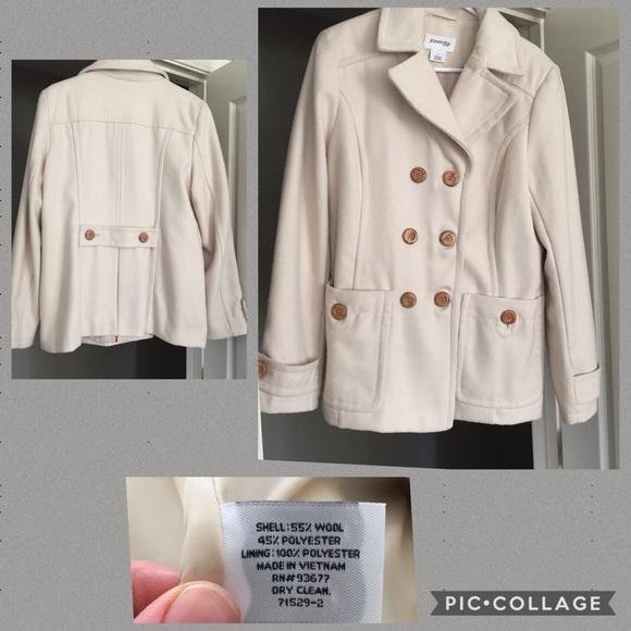 ea324c74b St. John's Bay Wool Coat