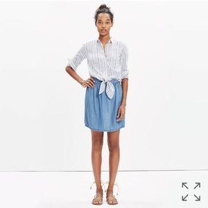 Madewell Faded Indigo Skirt