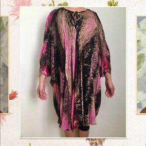 Diane Von Furstenberg DVF 100% Silk Dress