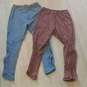 Pants - 2 pair NWOT work out leggings