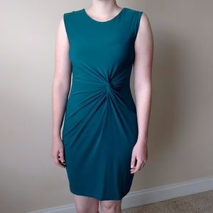 Apt. 9 Teal Twist Dress