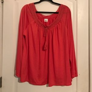 WRANGLER blouse with Bell Sleeves